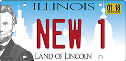 Have You Seen the new Illinois License Plates?