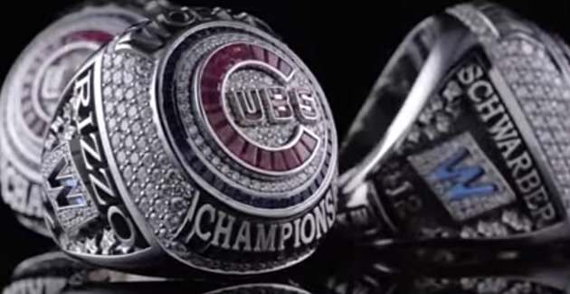 Cubs Put a Value on the 2016 World Series Ring