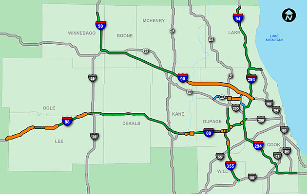 2017 Illinois Tollway Projects