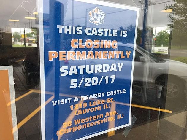 White Castle in DeKalb is Closing