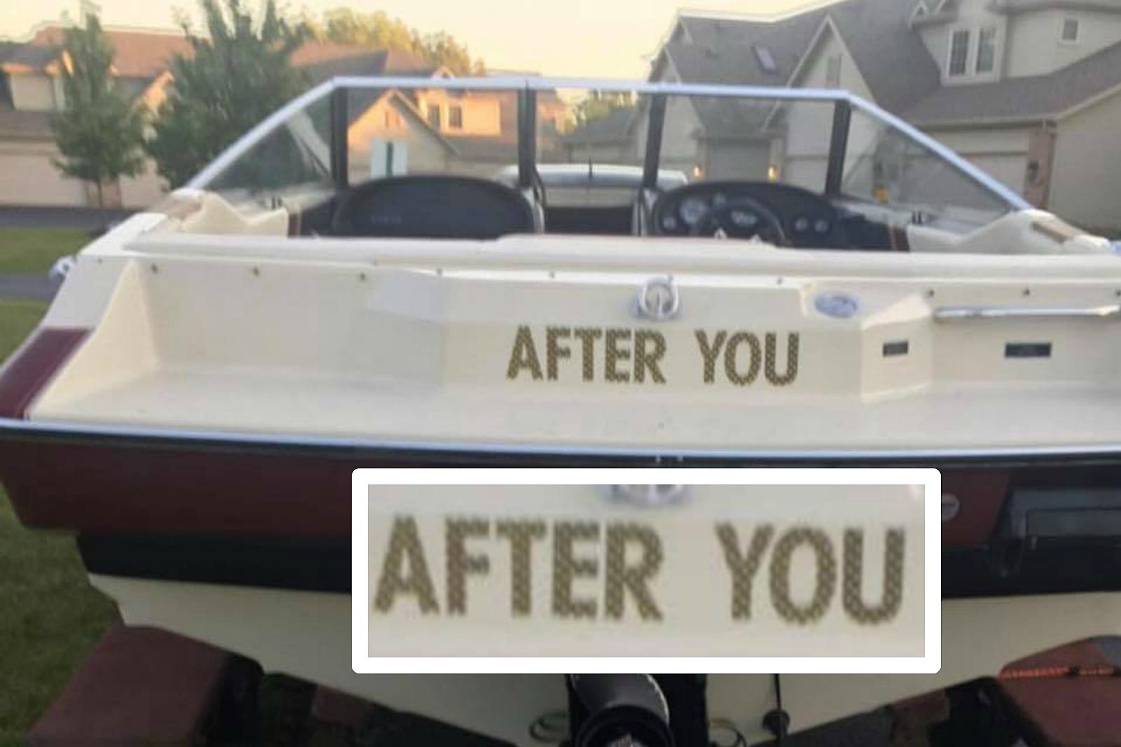 Dad Joke Boat