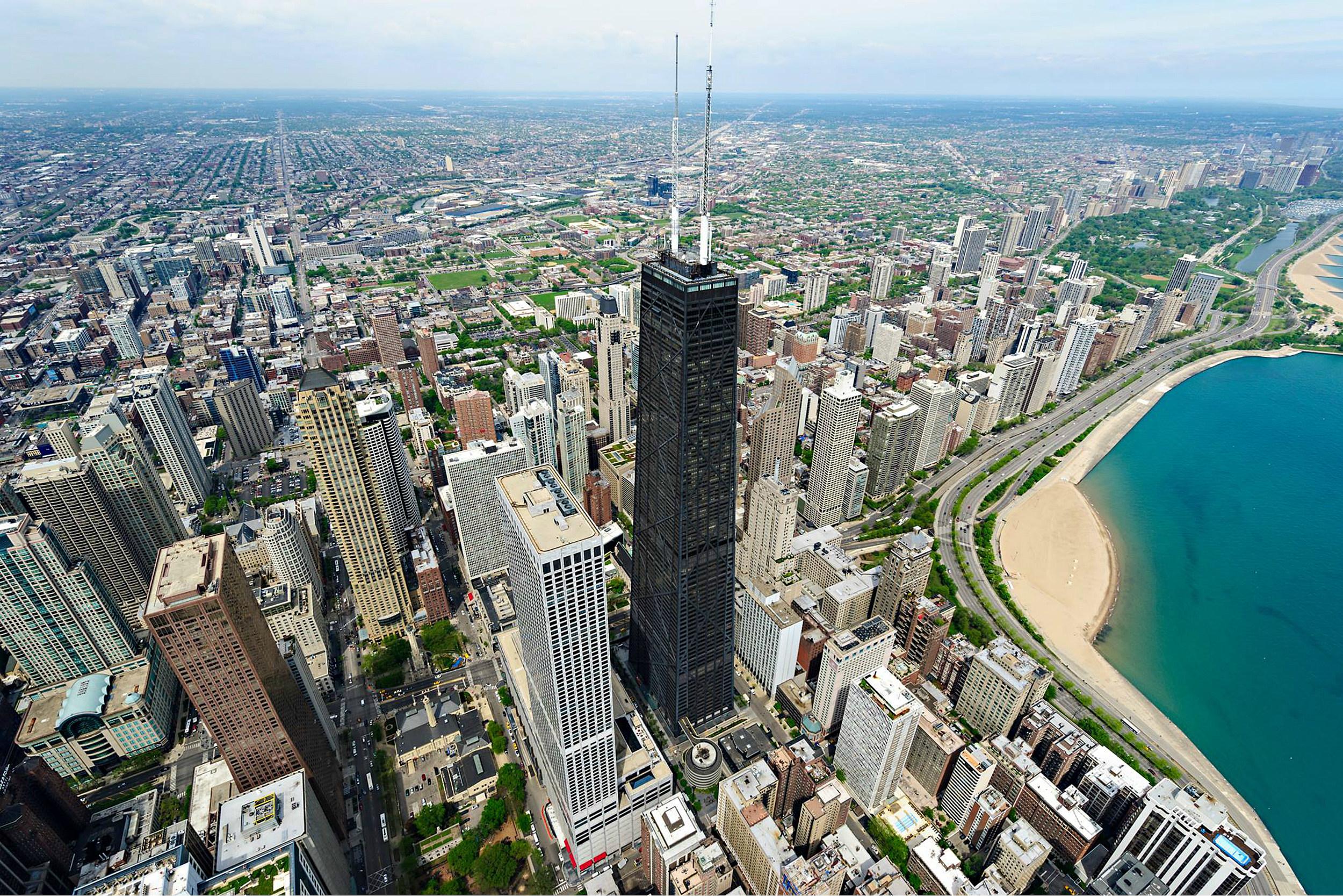 John Hancock Building Observation Deck Chicago