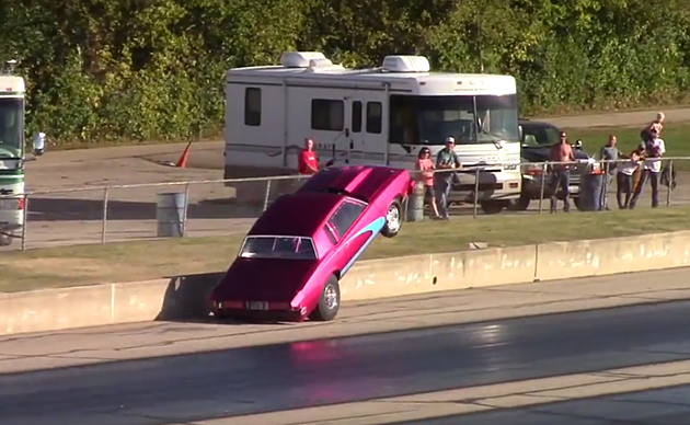 Video Captures a Wild Crash At Byron Dragway