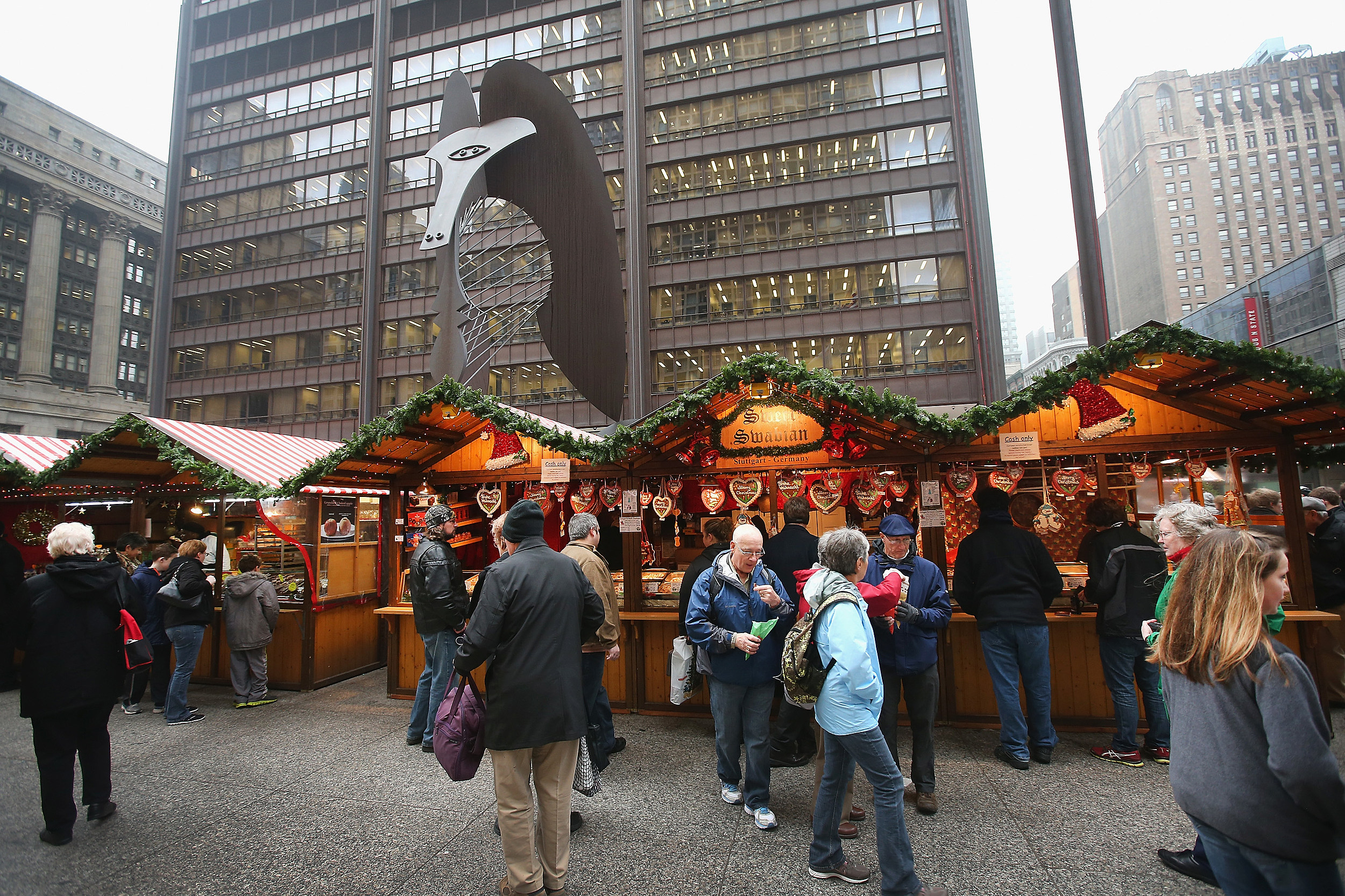 Holiday Market In Chicago Offers Shoppers Seasonal Goods